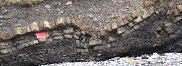 Buckling rock - the result of Glaciation